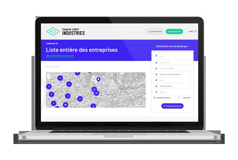 Annuaire web Franche-Comté Industries