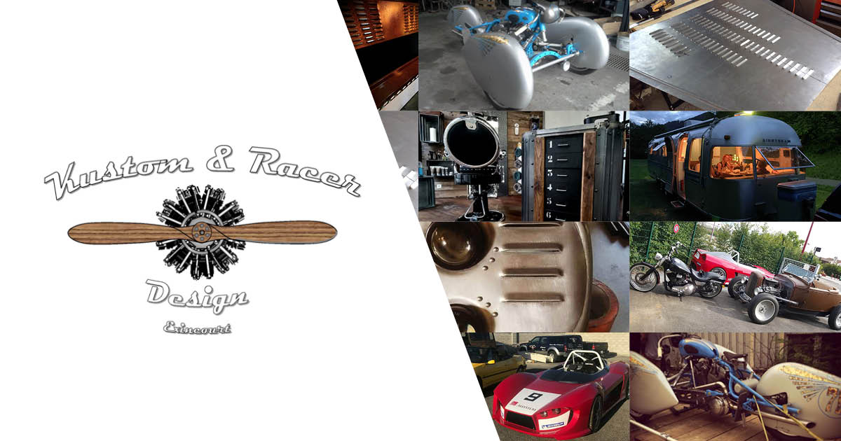 Atelier Kustom Racer Design Exincourt