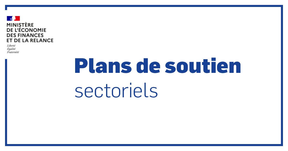Plans de soutien sectoriels