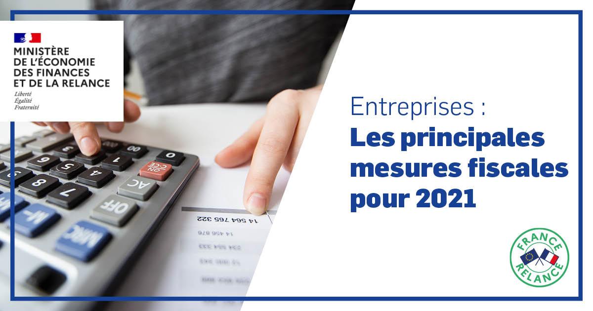 Mesures fiscales 2021