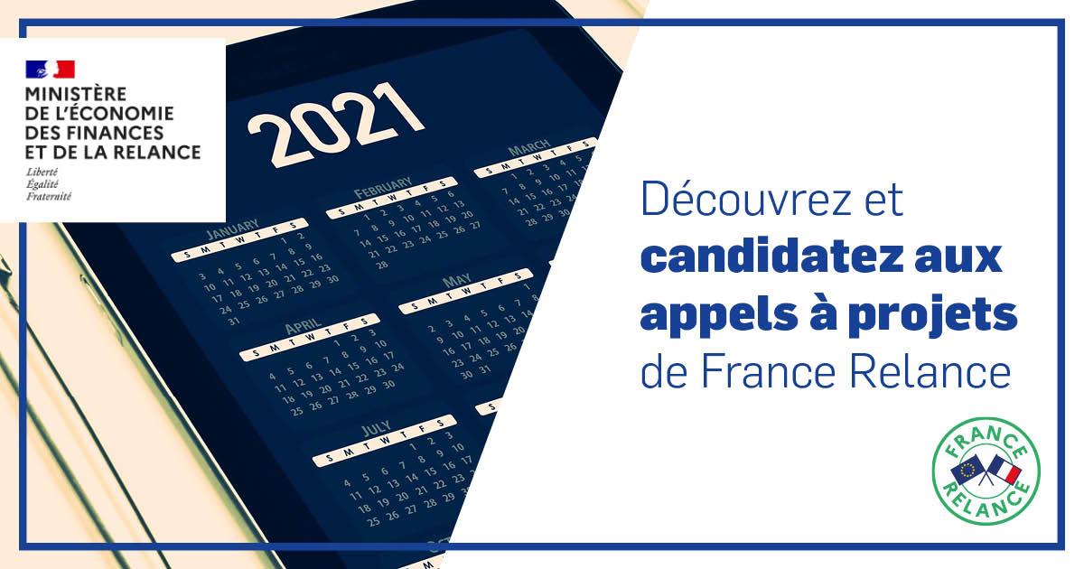 France Relance : candidatez aux appels à projets