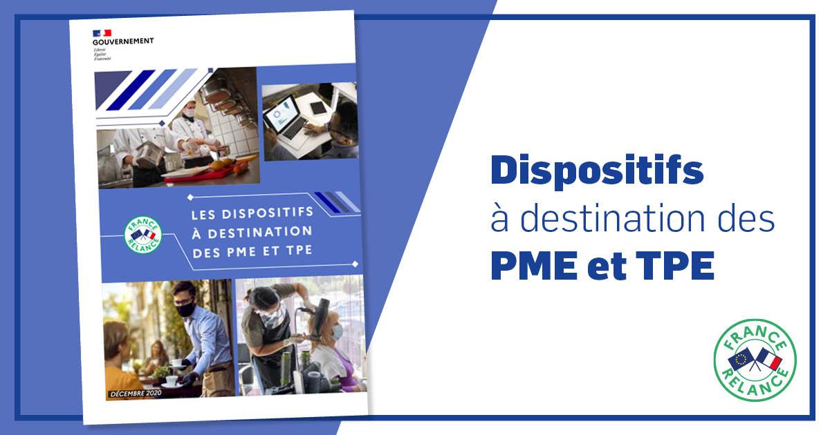 France Relance : dispositifs PME TPE