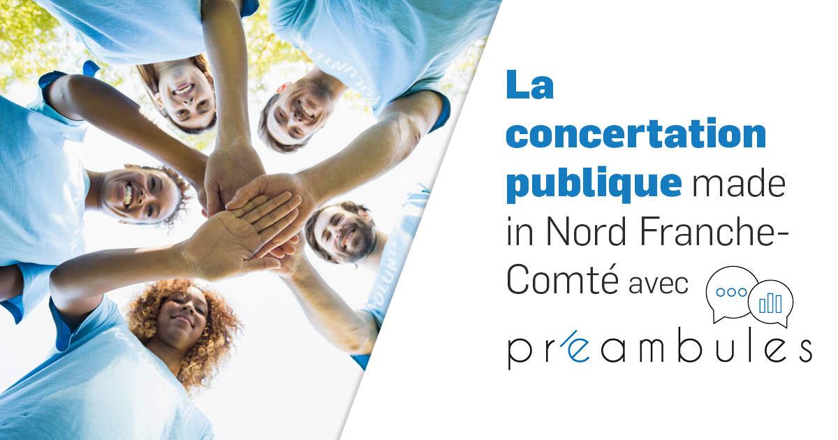 La concertation publique avec Préambules