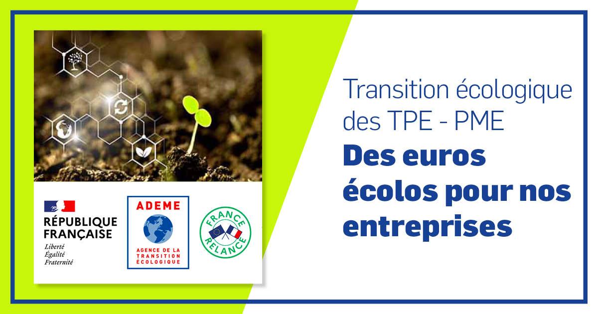 Des euros pour la transition écologique des TPE - PME
