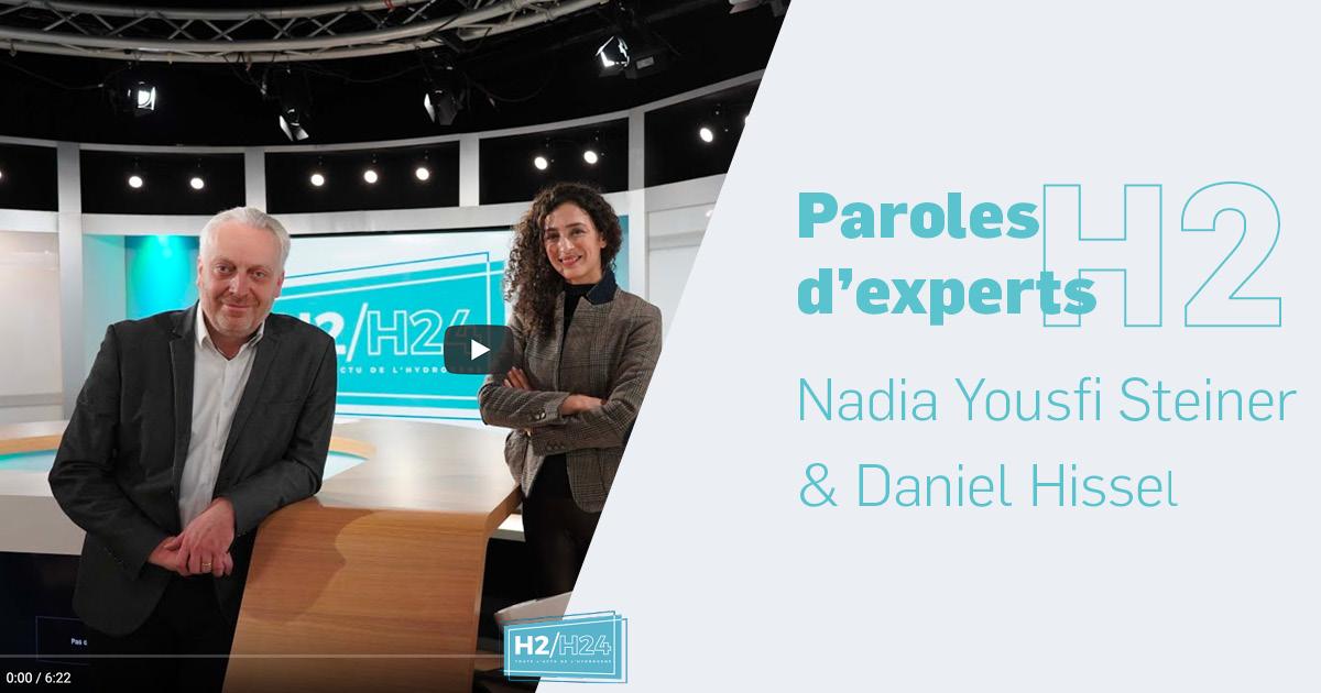 Nadia Yousfi Steiner et Daniel Hissel