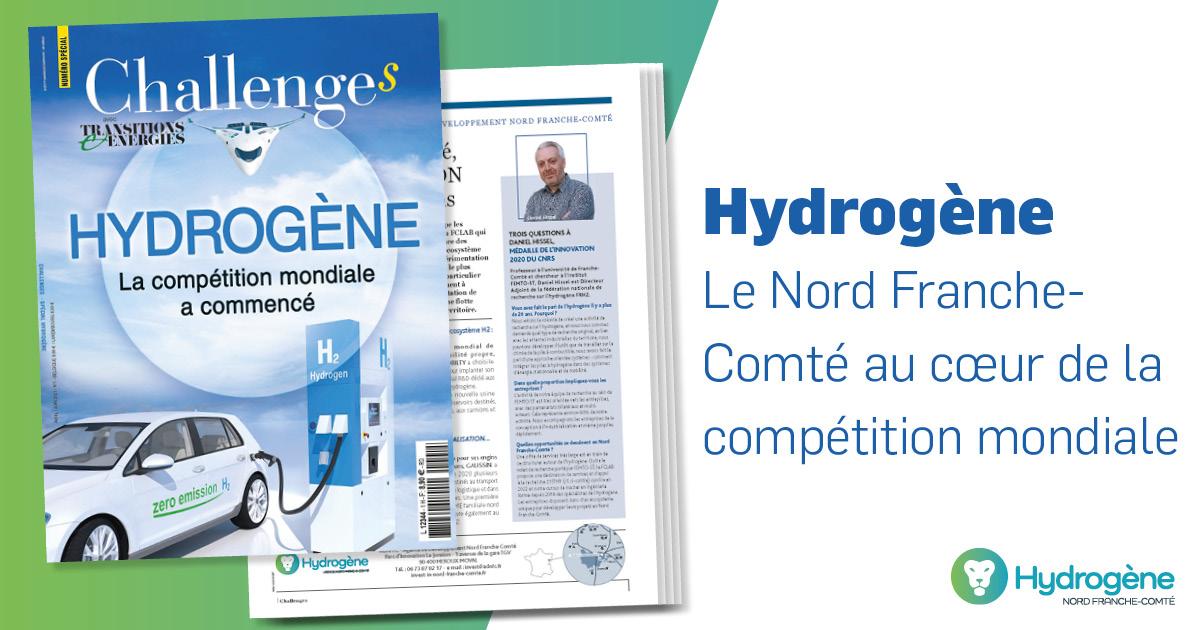 Le Nord Franche-Comté dans Challenges hors-série H2