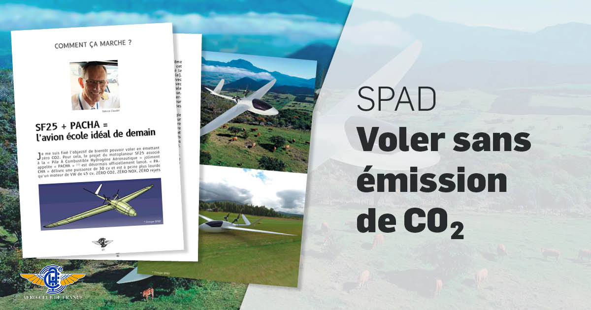 SPAD - Voler sans émission de CO2