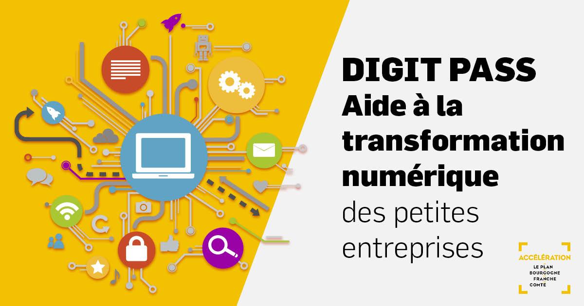 Digit Pass - Aide à la transformation numérique des petites entreprises