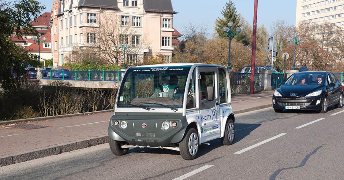 La F-City H2 à Belfort - Crédit photo Pôle Véhicule du Futur