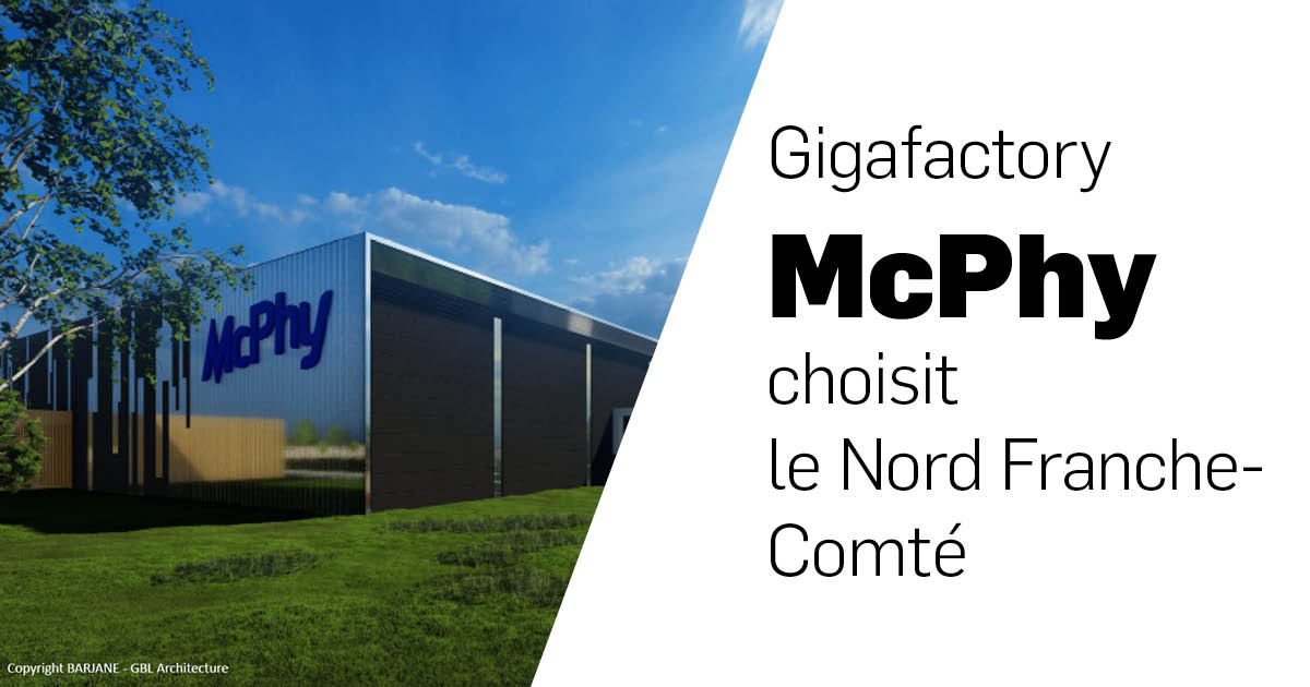 McPhy choisit le Nord Franche-Comté