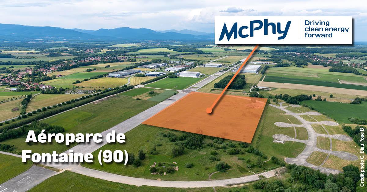 Aéroparc de Fontaine (90)- projet McPhy