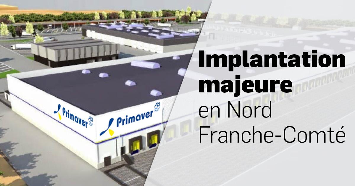Implantation majeure en Nord Franche-Comté