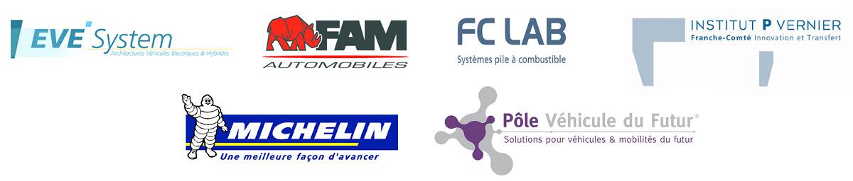 F-CITY H2 - partenaires