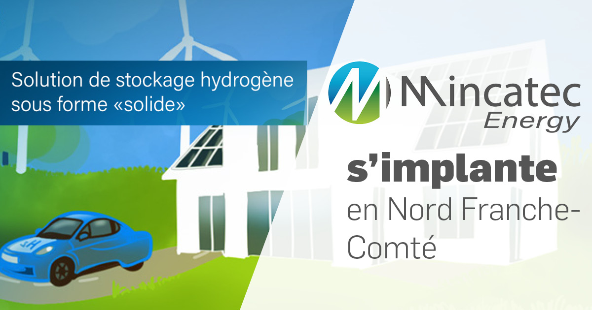 MINCATEC ENERGY s'implante en Nord Franche-Comté