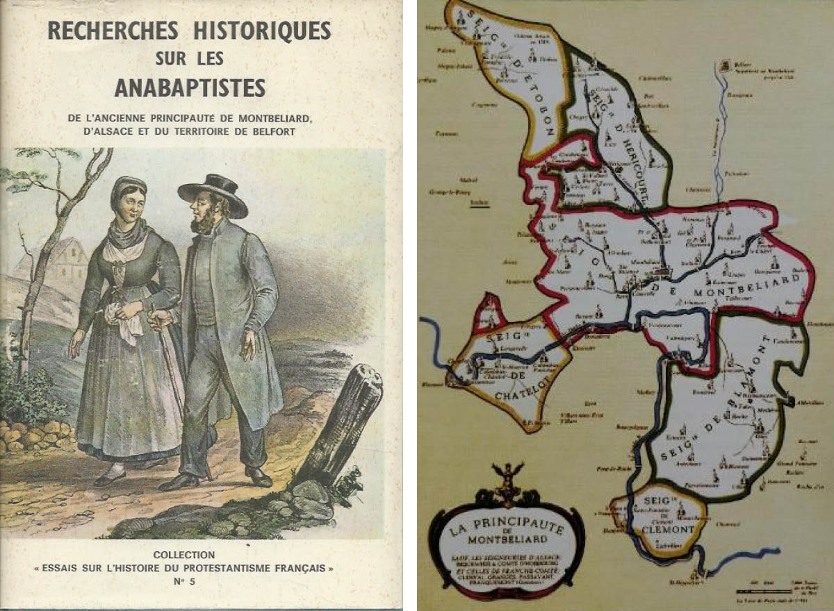 HISTOIRE Anabaptistes Principauté deMontbéliard