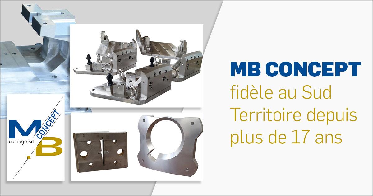 MB CONCEPT usinage 3D à Beaucourt