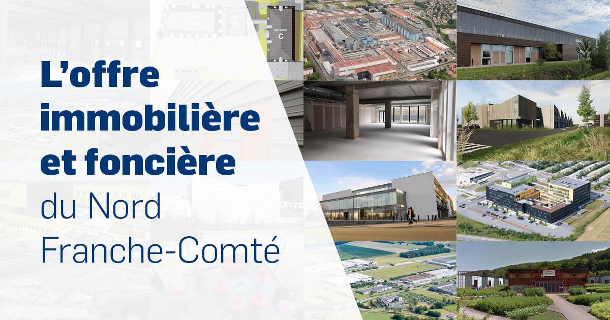 L'offre immobilière et foncière du Nord Franche-Comté