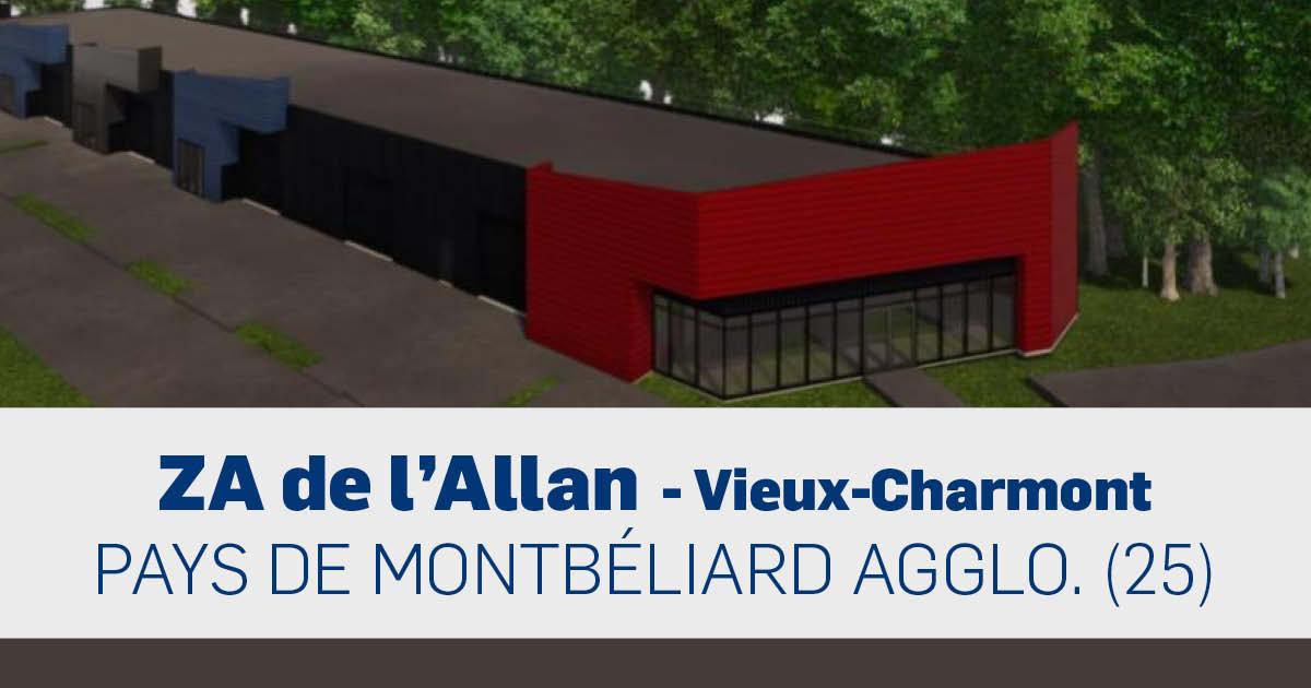ZA de l'Allan - Vieux-Charmont