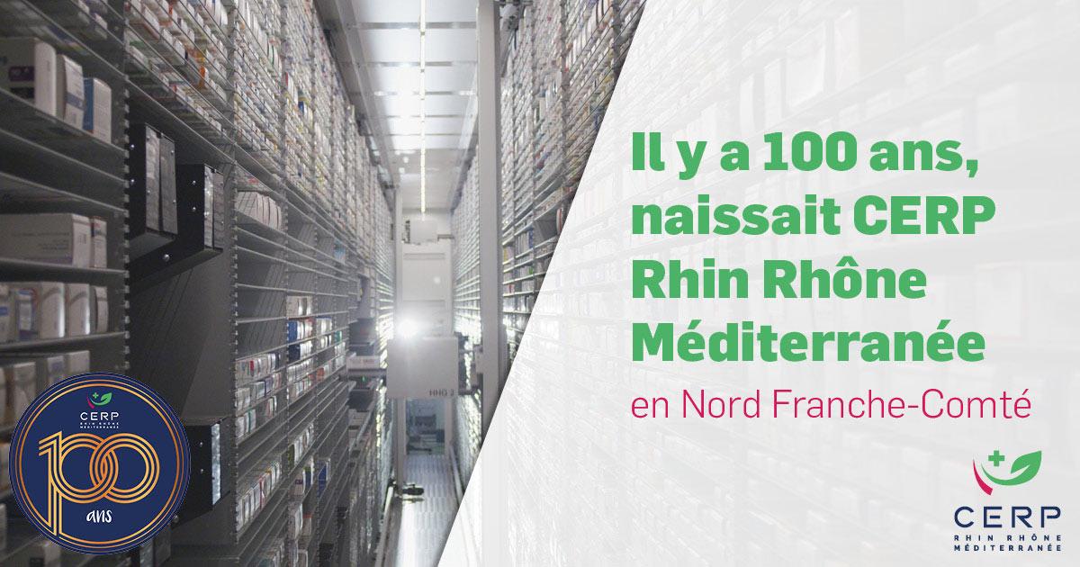 CERP Rhin Rhône Méditerranée - 100 ans