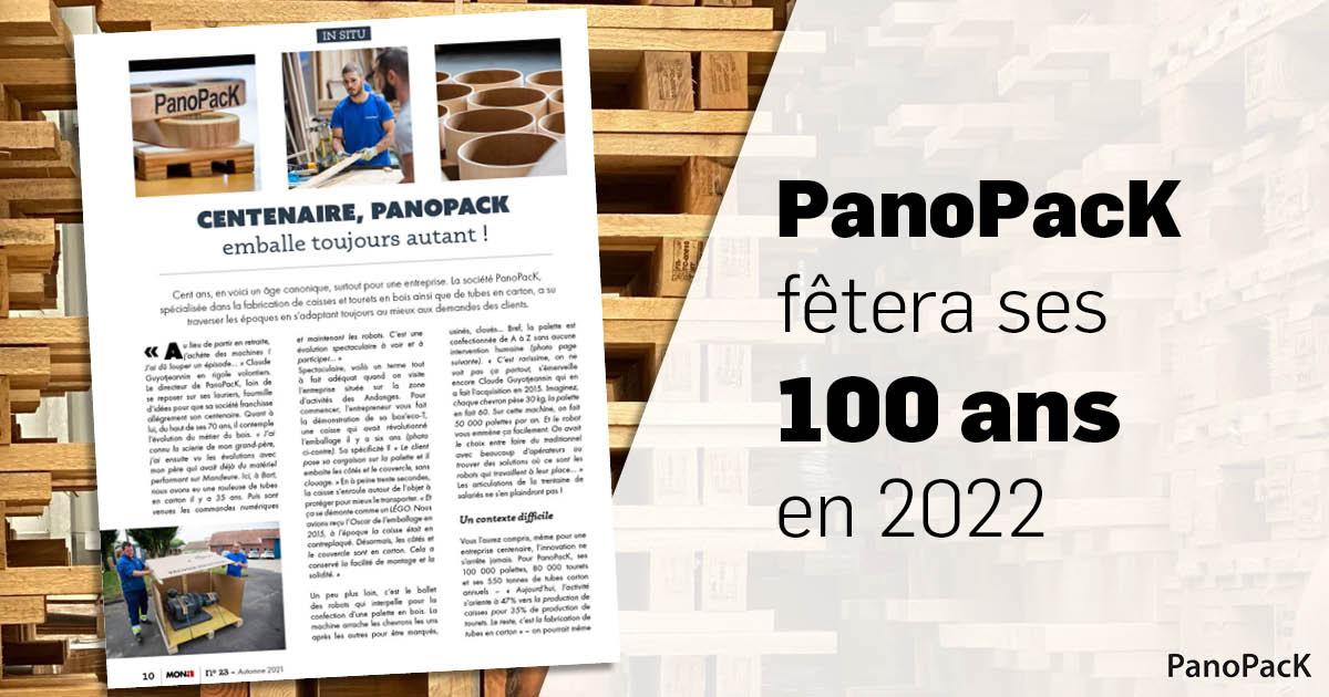 PanoPacK fêtera ses 100 ans en 2022
